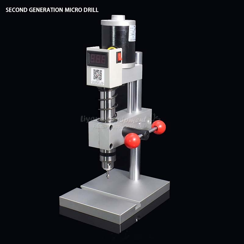 Miniature precision second generation bench drill Tapping tooth machine ER11 C00106 no tax to russia miniature precision bench drill tapping tooth machine er11 cnc machinery