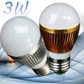 2pcs 3W LED Bulb Lamps E14/E27/GU10 110V/220V White/Warm White LED Bubble Ball Bulb Light Spot Light LED Light Lamp High Quality
