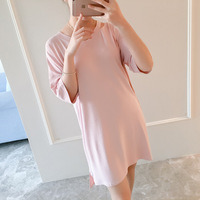 2017 Spring And Summer Comfortable Maternity Dress V Neck Pregnant Dress Women S Plus Size Maternity