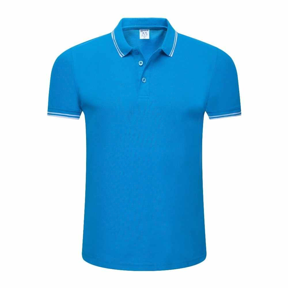 LiSENBAO Brand Men's Polo Shirt Men Cotton Short Sleeve shirt Brand jerseys Summer Solid Male Polo Top Clothes Custom Print Logo