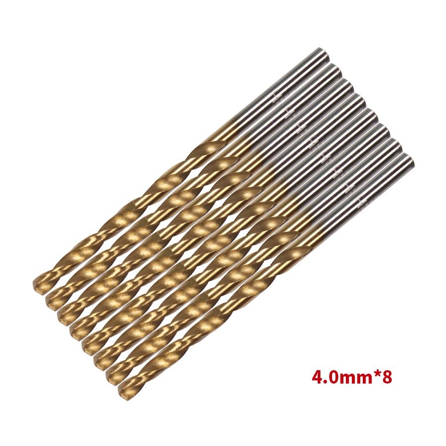 99 db / Set fúró- és fűrészkészlet HSS acél titán bevonatú - Fúrófej - Fénykép 4