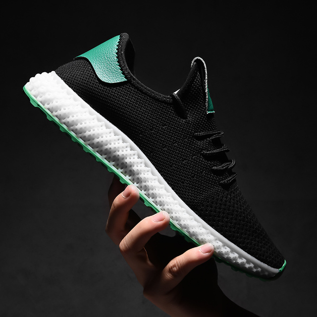 Mens Casual Lace-Up Comfortable Sneakers 4