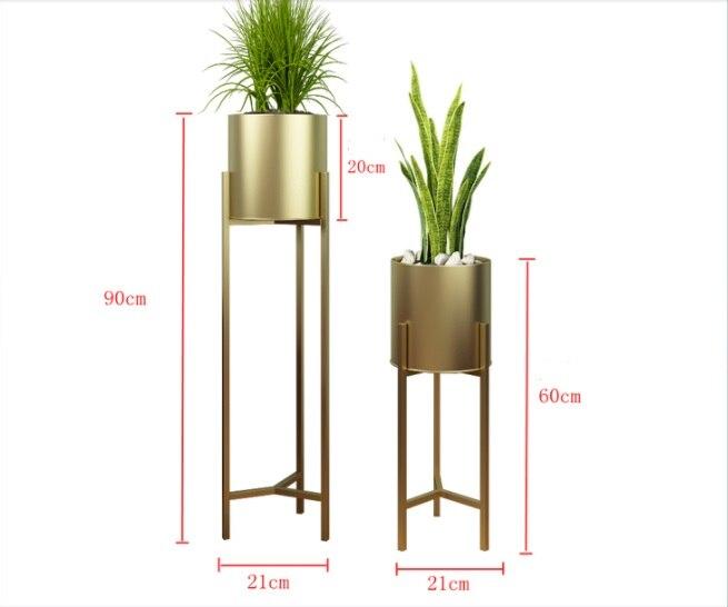 de pé, moderno, simples, vaso de flores, suporte verde