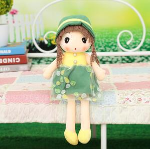 Music Cute Lovely Girl Princess Plush Toy Doll Wedding Xmas Valentines Day Gift New Arrival Sing Doll Free Shipping A-29