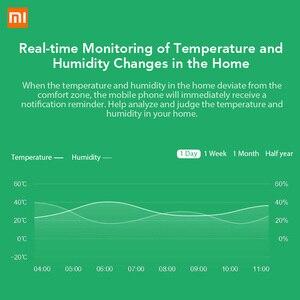 Image 3 - Оригинальный Смарт датчик Xiaomi Mi Mijia, датчик температуры и влажности для умного дома, термометр, Wi Fi, дистанционное управление по телефону, приложение Mi