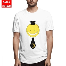 Men's O-neck Koro Sensei T-shirt Cheap T Shirt Pure Cotton S-6XL Big Size Tee Shirt assassination classrroom T shirt стоимость