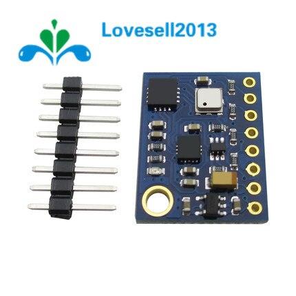 GY-89 10DOF I2C/IIC SPI L3GD20 LSM303D BMP180 Акселерометр, гироскоп магнитометр барометр датчик плата модуль GY89 для Arduino