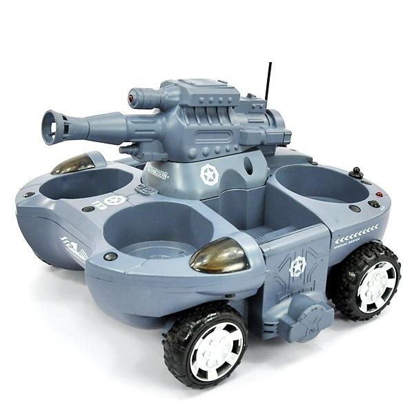 Rc tank 24883 junge spielzeug 4CH große feuer BB kugeln schießen land und wasser amphibien fernbedienung spielzeug tank rc auto Geschenk für Kind - 3