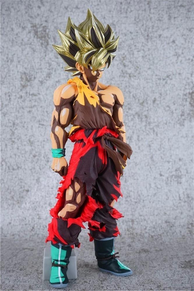 32 см Dragon Ball Z Супер Саян Гоку Comics Действие Фигура ПВХ Коллекция цифры игрушки для рождественский подарок brinquedos Коллекционная