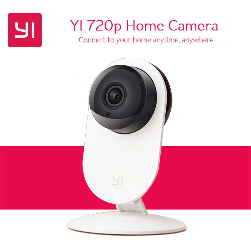 International YI Home Camera 720P HD WiFi Wireless IP Camera Webcam Night Vision Motion Detection Network Surveillance Monitor