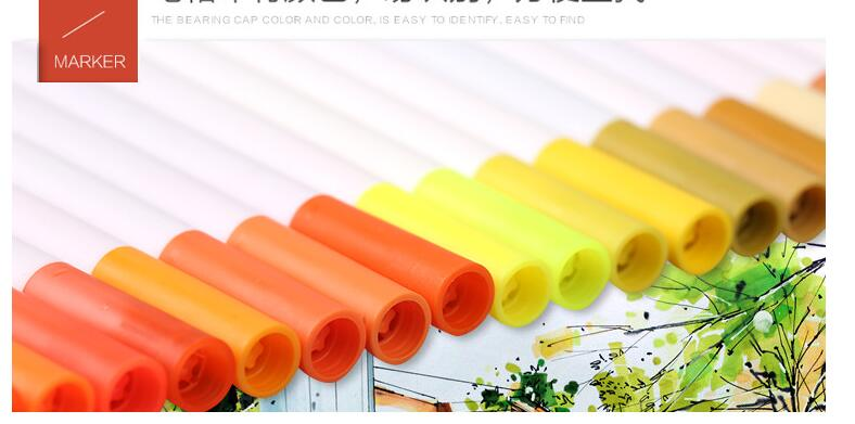 China watercolor marker pen Suppliers