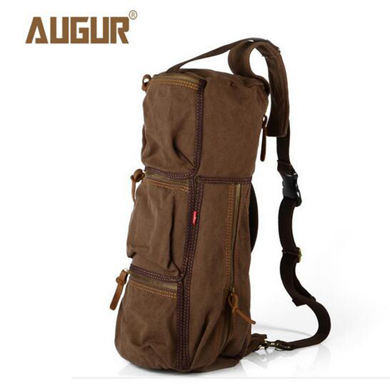 AUGUR Huge Travel Bag Large Capacity Men High Quality Canvas Weekend Bags Multifunctional Bags PD0222 high quality brand polo genuine golf clothing bag of men s shoes bags large capacity oxford fabric 2016 new travel apparel bags