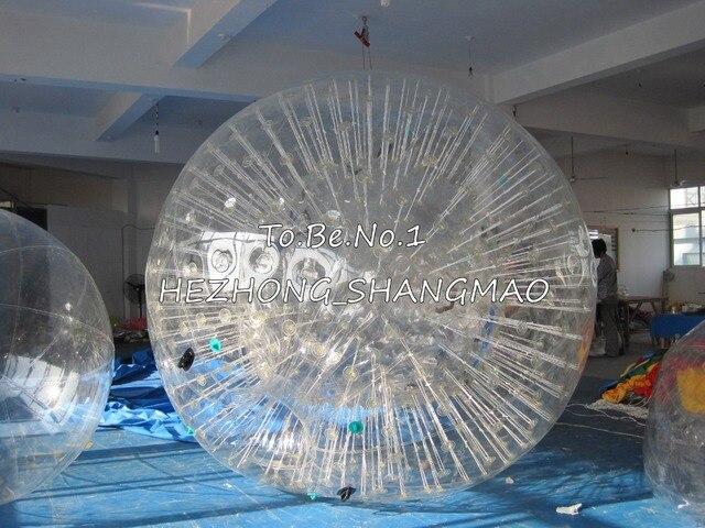 3.0 М * 2.2 М Надувные Зорб мяч Зорбинг Людской шарик Хомяка 1300 Вт Воздуходувки X1