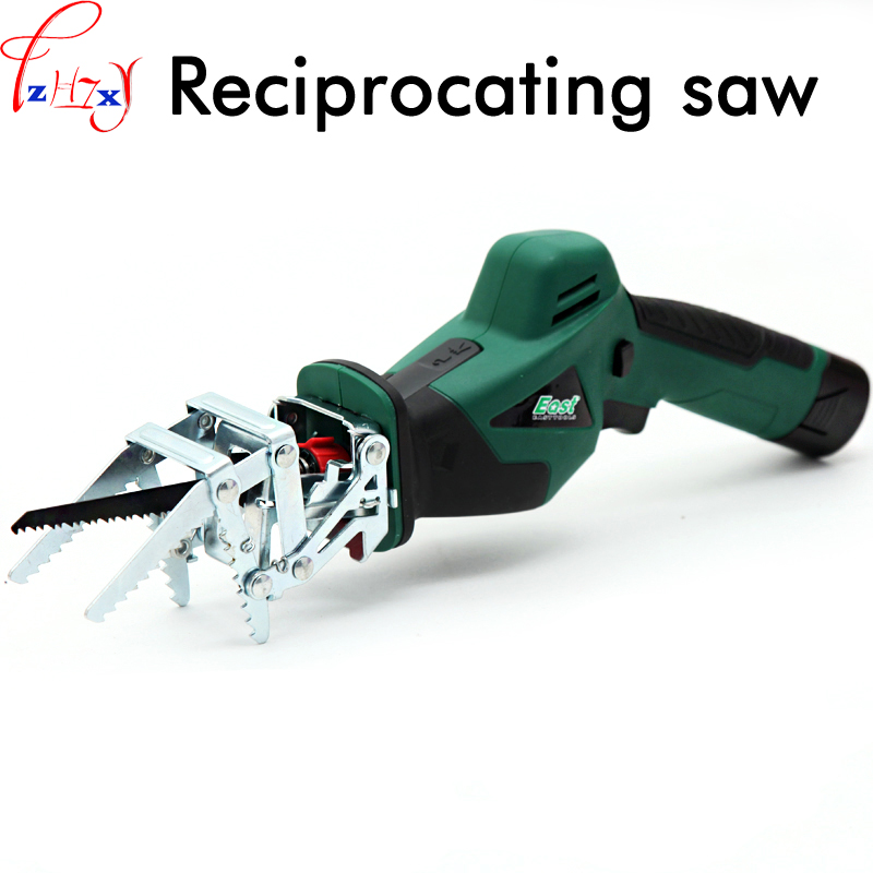 Multifunctional Household Rechargeable Reciprocating Saw Electric Handheld Recycling Sawmill Tools 10.8V multifunctional household rechargeable reciprocating saw electric handheld recycling sawmill tools 10 8v 1pc
