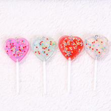 12pcs  82*35mm Cute Multicolor Lollipops charms Resin pendant  necklace charms  for woman jewelry diy  Flatback cabochons