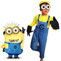 COUHUNT 2017 Children's Minion Costume Despicable Me Cosplay Costumes Boys Minion Costume Despicable Me Halloween Suits