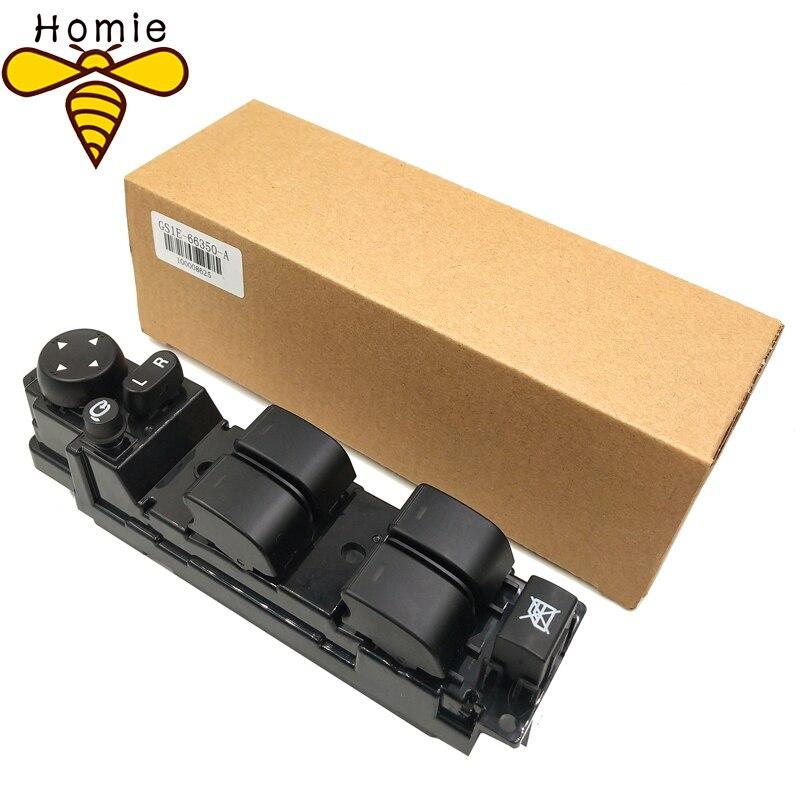 Commutateur de Fenêtre De Puissance De haute qualité Pour Mazda A6 1.8 2.0 2.2 2.5 GS1E-66350A GS1E 66350A GS1E66350A