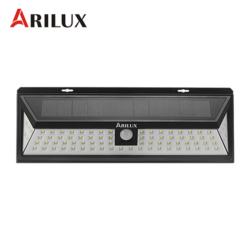 ARILUX AL-SL12 80 LED Solar Lamp PIR Motion Sensor Outdoor Solar Powered LED Garden Light Waterproof Emergency Wall Light Lamp джаннетт уоллс замок из стекла