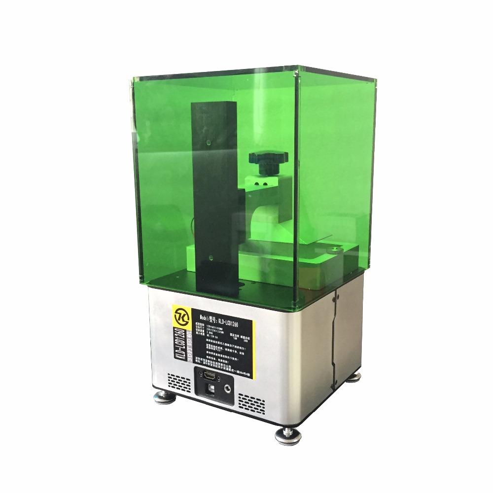 Prix pour Micromake nouveau sla imprimante haute précision photocurable 3d imprimante cire/coulée/uv résine lcd lumière durcissement