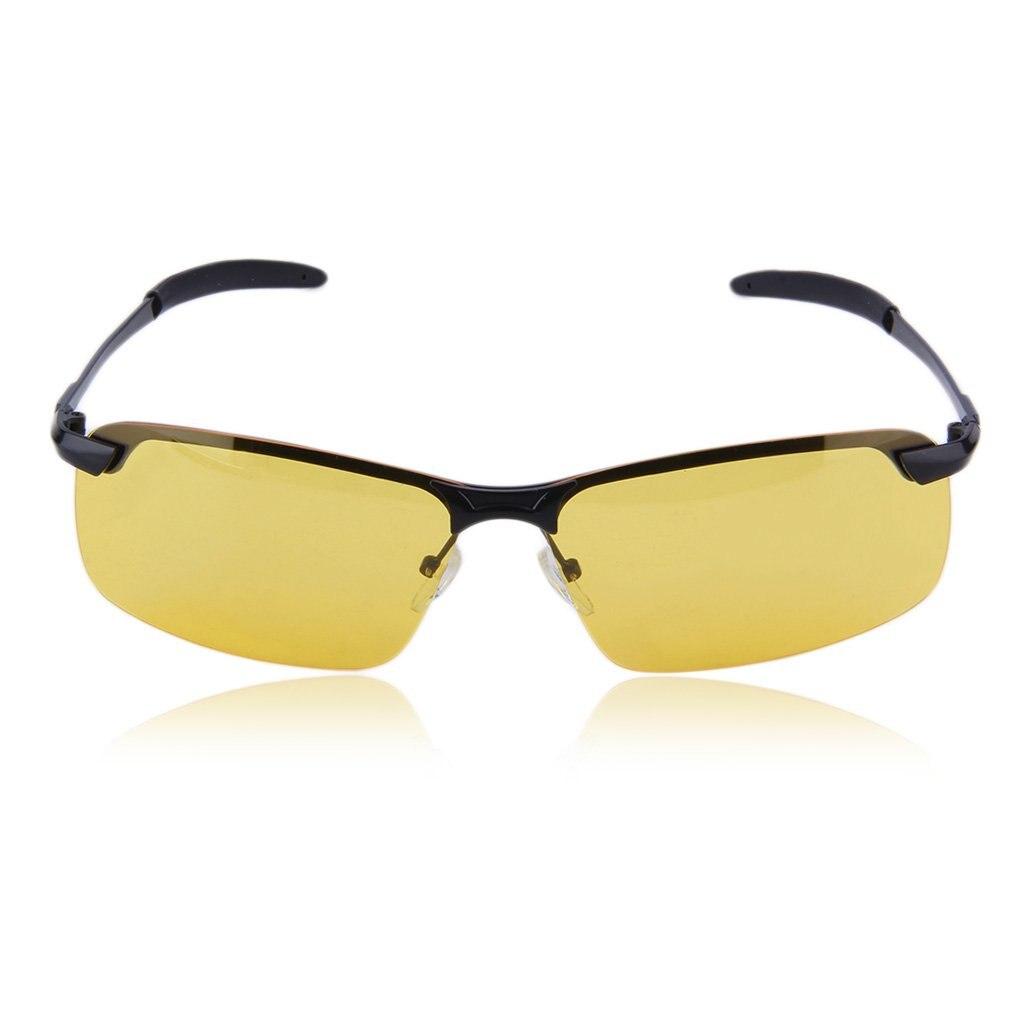 scoppio Polarizzati Di Peso Uv400 Alta end Guida Notturna Luce Occhiali Unisex Protezione Visione Sole Anti Da O1a8wBpq
