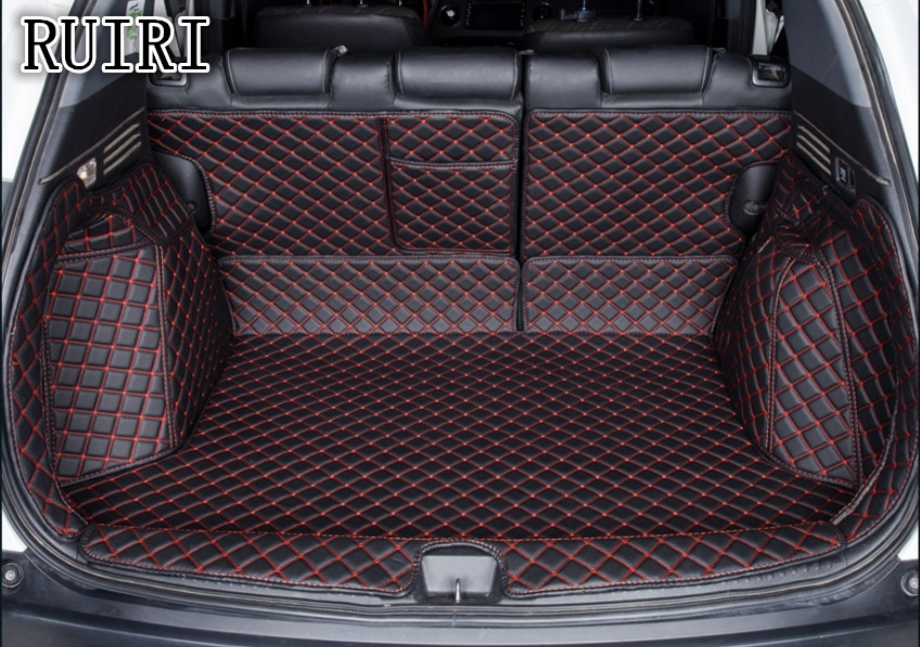 High quality! Special car trunk mats for Honda Vezel 2019 waterproof cargo liner boot carpets for Vezel 2018 2015,Free shipping