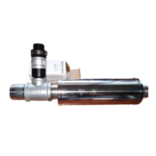 ROHS 1PC Relief valve+1PC 1.2inch double screw thread connector+1pc T connector+1PC ss  silencer used for blower
