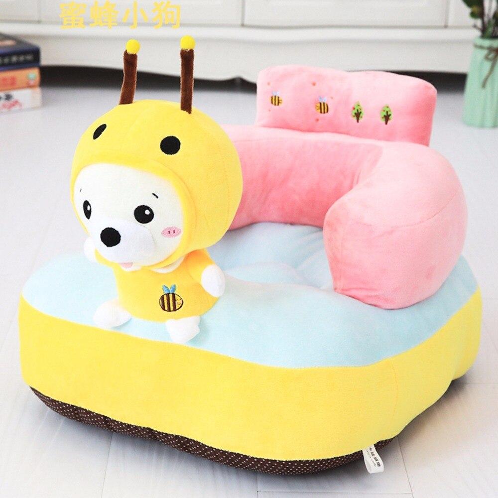 Tapis de jeu bébé peluche licorne chaise pour bébé apprendre s'asseoir bébé chaise tapis Moose jouer tapis de jeu canapé enfants cadeau - 6