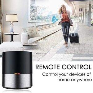 Image 2 - Casa inteligente controle remoto para geeklink app wifi + ir sem fio ios android app siri controle de voz tv ac temporizador controle inteligente