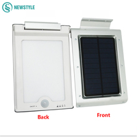 1 6W 46 LED Solar Light Outdoor Lamp Waterproof Energy Saving Wall Light Motion Sensor Solar