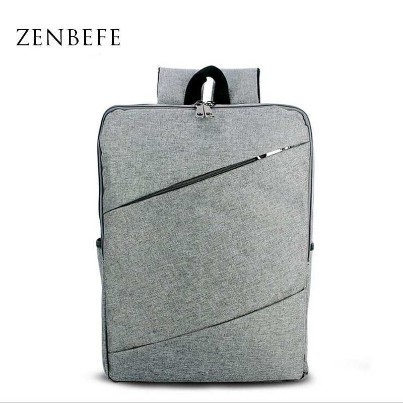 ZENBEFE Office Business Backpacks Durable Laptop Backpack Bolsa Mochila For Travel Bag School Rucksack School Bags For Teenagers