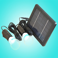 Solar lights kits outdoor 6v single/dual white bulbs led street lamp light led garden solar lighting Security Path Light
