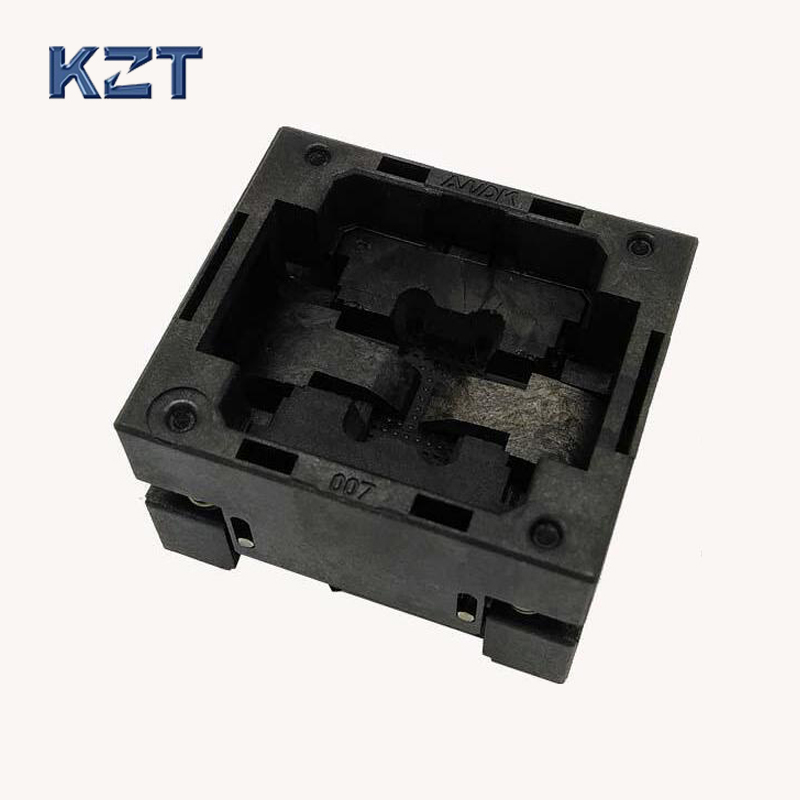BGA48 OPEN TOP burn-in socket pin pitch 0.8mm IC size 8*10mm BGA48(8*10)-0.8-TP08/50N BGA48 VFBGA48 Burn in/programmer socket интегральная микросхема 10 ic ad8616ar 8 8 soic
