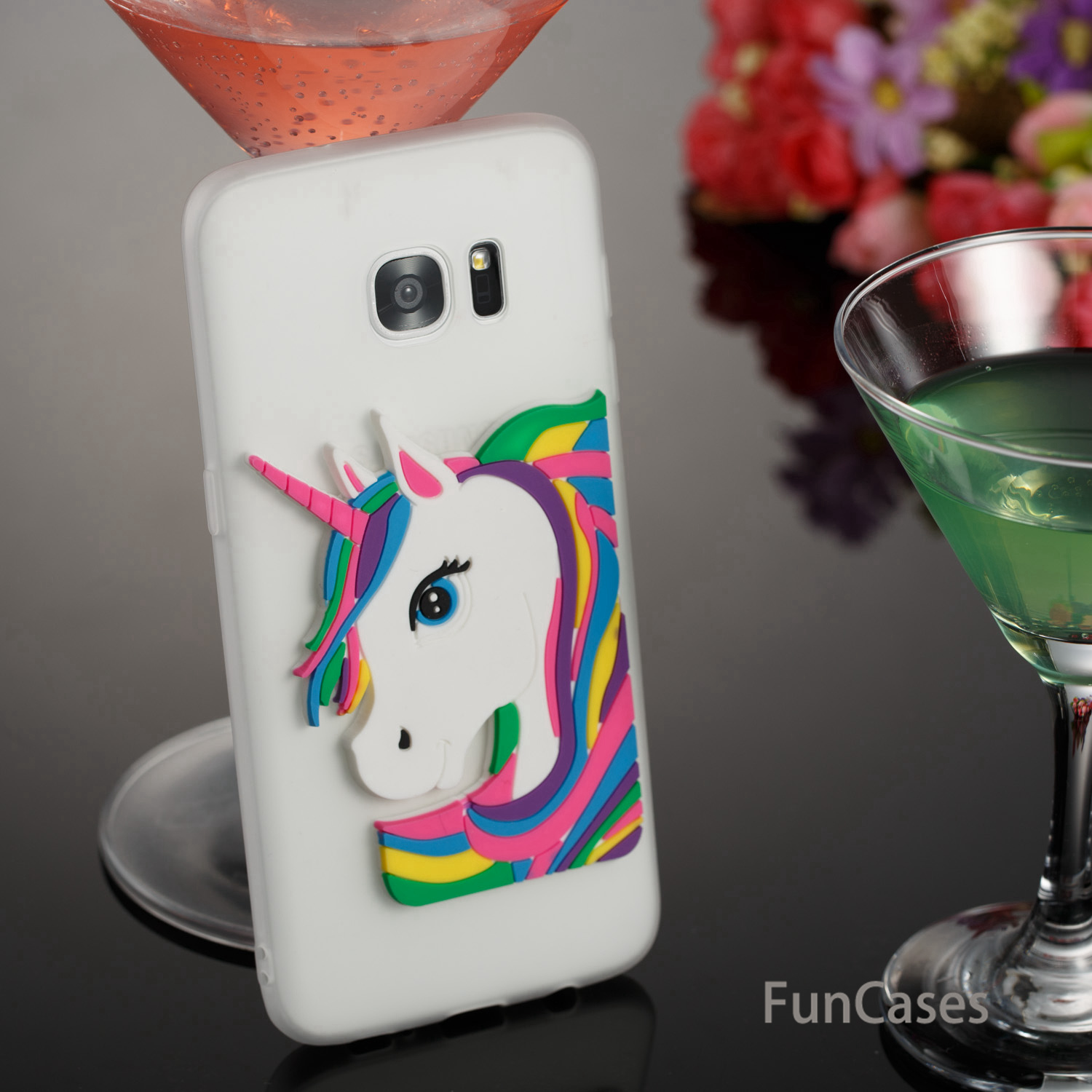 Cute Unicorn Case sFor Ajax Samsung S7