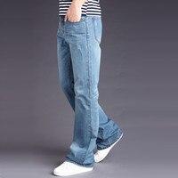 Men's Pant Casual Brand Spring Denim Jeans Man Trouser Autumn Cowboy Pant Big Size