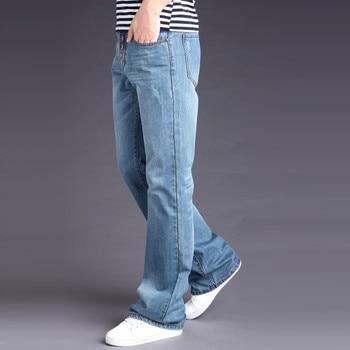 Mens Pant Casual Brand Spring Denim Jeans Man Trouser Autumn Cowboy Big Size