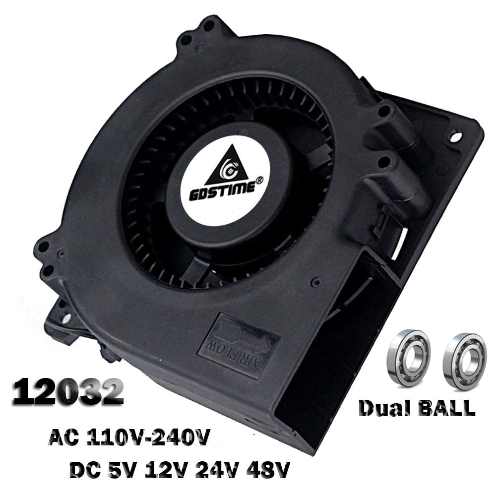 115... 120mm x 120mm x 38mm PINFOX 110V AC High Speed Cabinet 1238 Cooling Fan