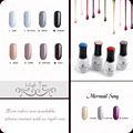 Fengshangmei 15ml One Step Nail Gel Polish 3 in 1 Gel for Nails UV LED Nail Polish Set