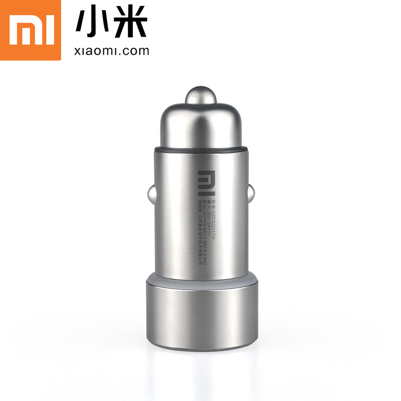 100% original xiaomi dual usb Car charger