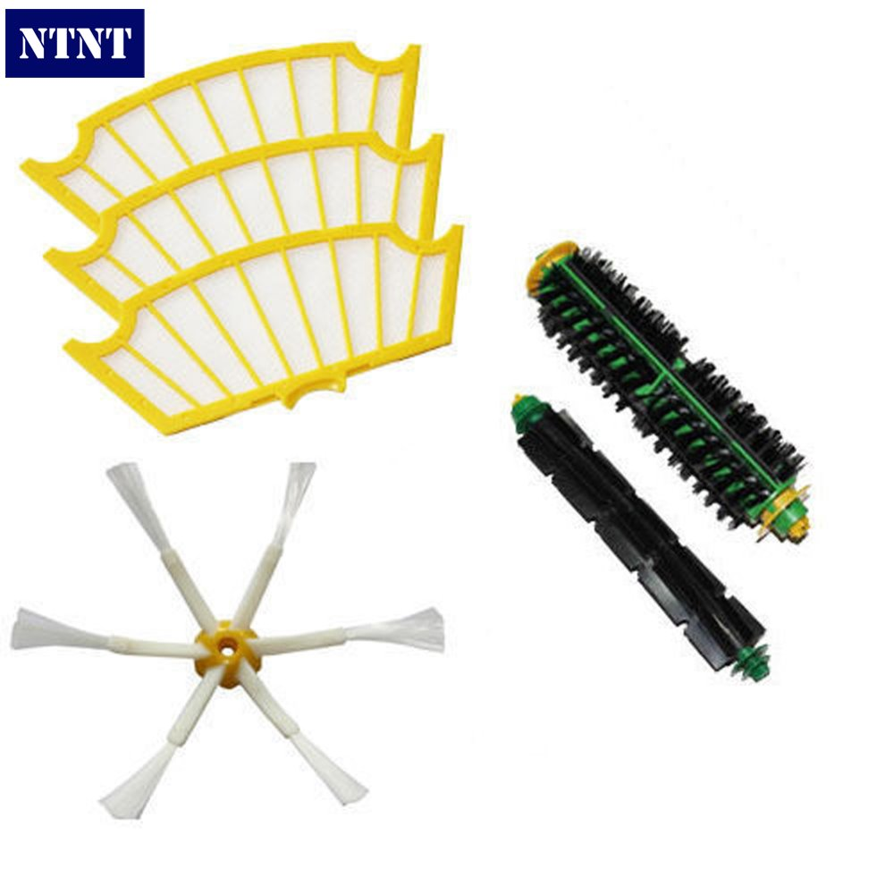 NTNT Free Post new Side Brush Filters 6 Armed For iRobot Roomba 500 Series 550 540 555 560 570 580 ntnt free post new 50x side brush 3 armed for irobot roomba 500 600 700 series 550 560 630 650 760