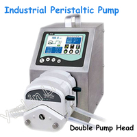Dispensing Peristaltic Pump 110V/220V Industrial Peristaltic Pump with LCD Display 2*YZ1515x