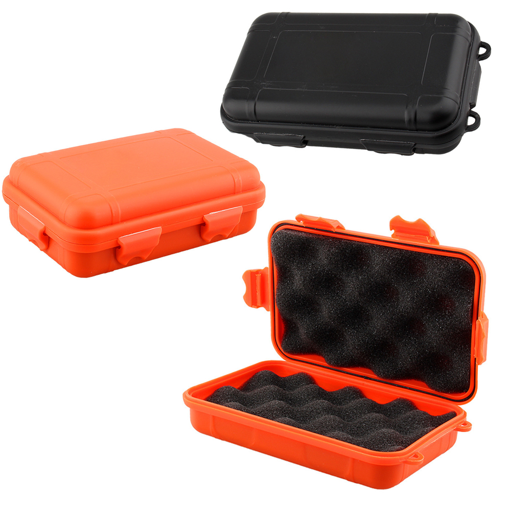 Открытый противоударный водонепроницаемый коробки спички мелкие инструмент edc выживания герметичный корпус держатель для хранения путешествия герметичные контейнеры