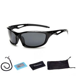 Reedocks جديد الاستقطاب الصيد نظارات الرجال النساء القيادة نظارات ركوب النظارات الشمسية في الهواء الطلق نظارات رياضية الصيد الصوتيات