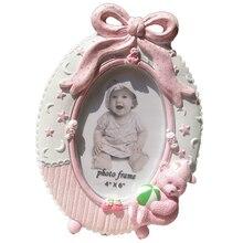 6 дюймов креативная рамка для фотографий Милая фоторамка из смолы для малышей