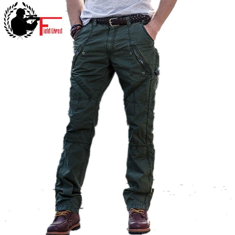 Winter Cargo Pant Men Fleece Warm Velvet Military Trouser Male Army Style Big Size Plus Elastic