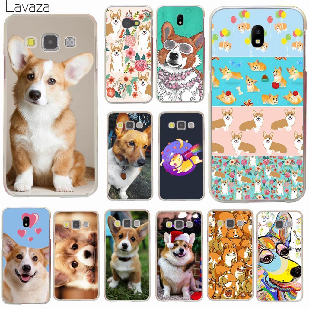 Lavaza cute Corgi dog Hard Phone Case for Samsung Galaxy J3 J1 J2 J7 J5 2015 2016 2017 J2 Pro Ace J7 J3 J5 Prime Cover