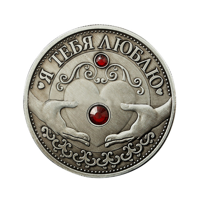 Metall Geschenk Handwerk Retro Home Russische Diamant Krone Liebe