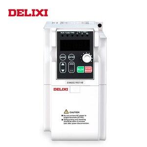 Image 2 - DELIXI AC 0.4 2.2KW 220V 단상 입력 3 상 출력 50HZ 60HZ 주파수 변환기 모터 속도 컨트롤러 인버터