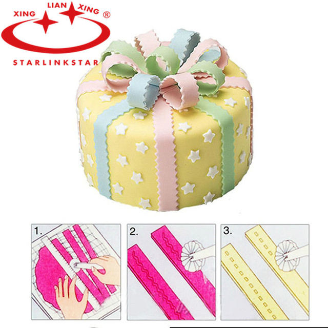Bicycle Cutter Cake Decorating : Aliexpress.com : Buy 1pcs Wheel Cutter Fondant Cake Sugar ...