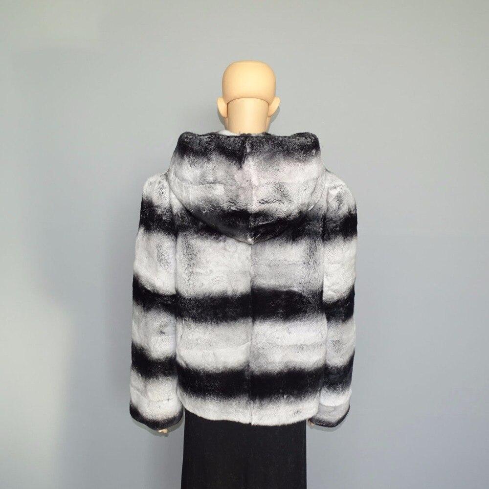 Fourrure Styles Manteau De Lapin Hiver Veste Nouveaux Femmes En Lexus Réel Rex 2017 86RqOfypA