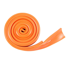 2.5m Orange resistance band Flat rubber 2.5 meter of rope long bands